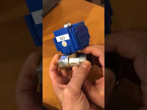Ball valve with electric actuator - Yamatho Supply