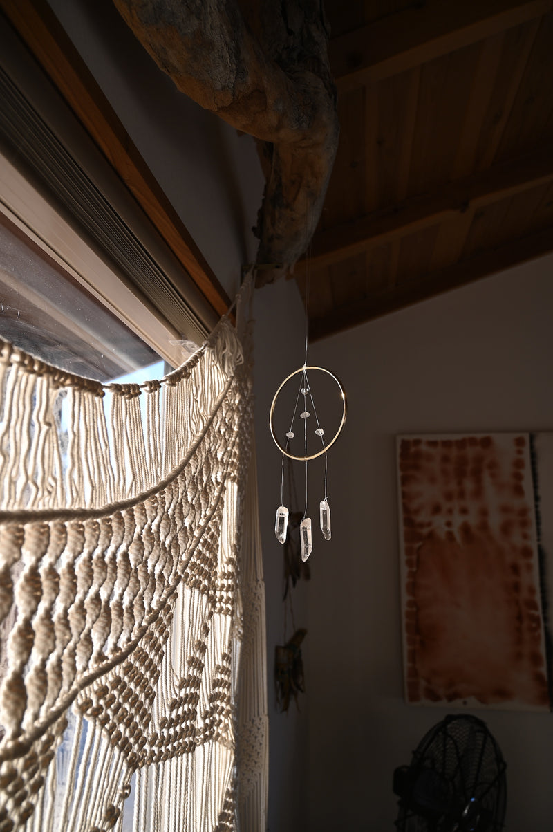 Quartz Clarity Sun Catcher