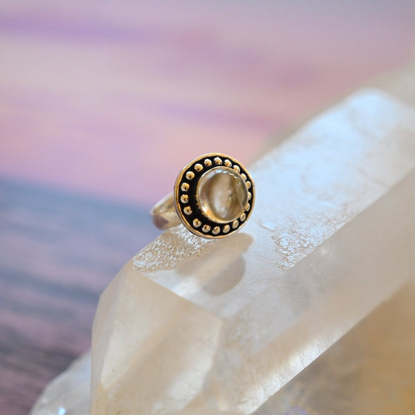 Quartz Clarity Ring