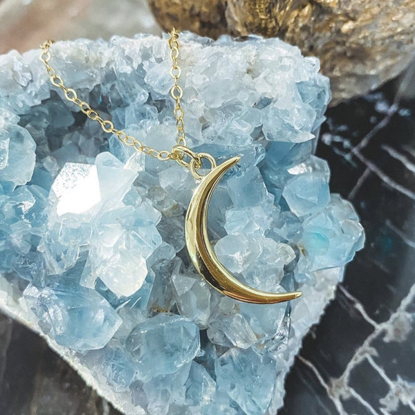 Manifest Moon Necklace