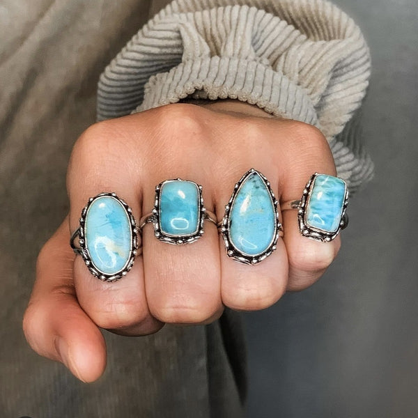 Larimar Flow With Life Ring