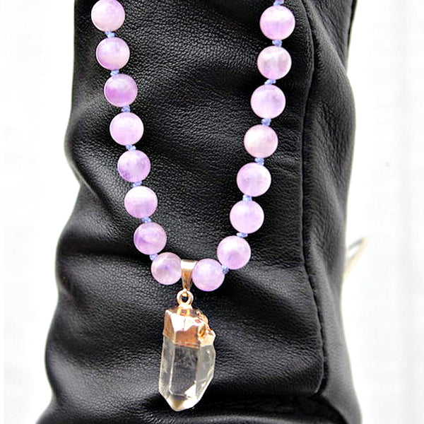 The Amethyst Power Necklace