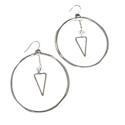 Changing Shapes Hoop Earrings
