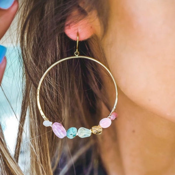 Energetically Aligned Hoops | 7 Chakra
