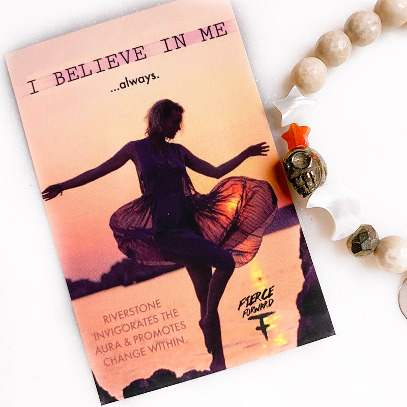 I Believe In Me Bracelet