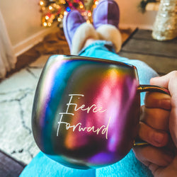 Fierce Forward Rainbow Mug