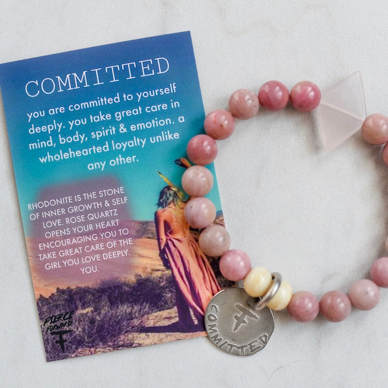 Committed To Yourself Bracelet