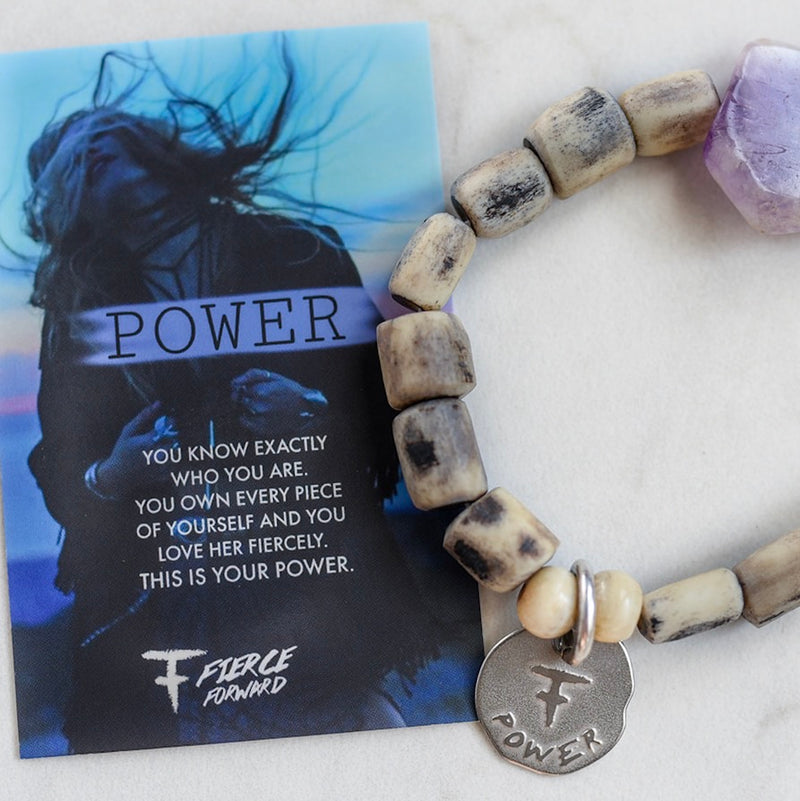 Power Amethyst Bracelet
