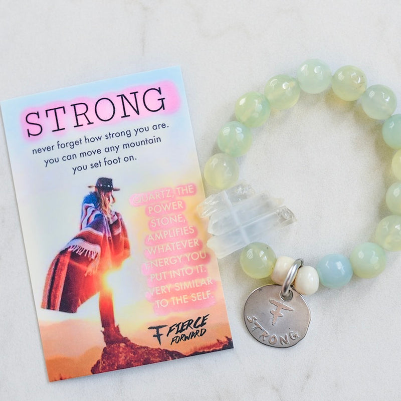 You Are Strong Bracelet