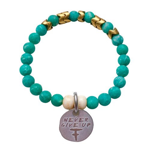 Never Give Up Warrior Bracelet