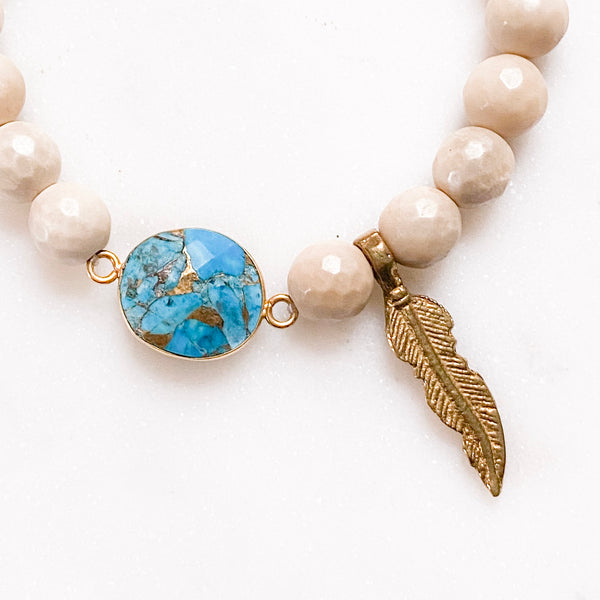 Feather Grounding Bracelet