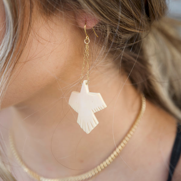 Phoenix Soaring Earrings