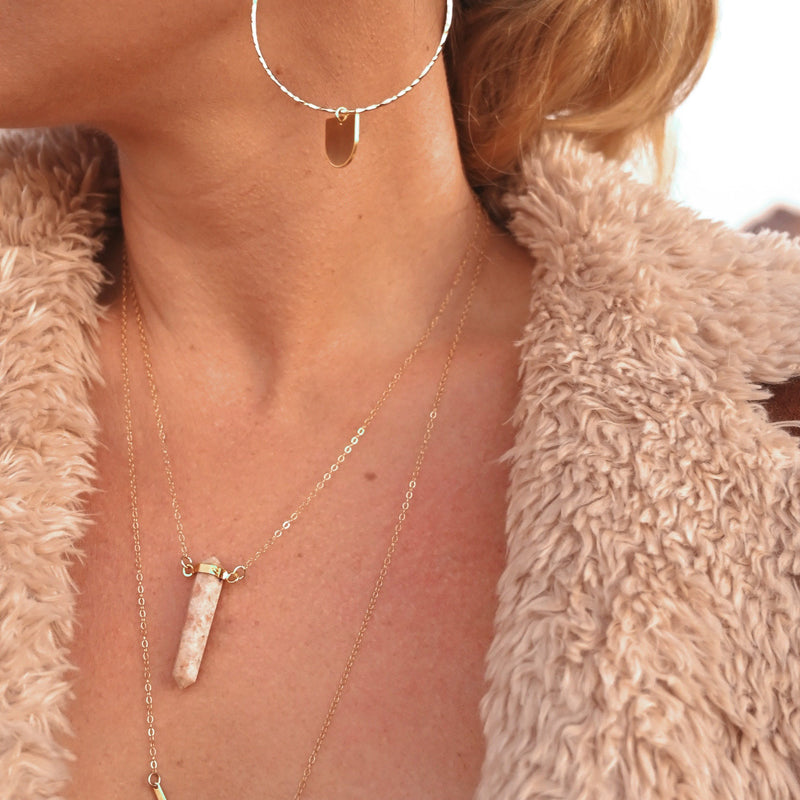 Light Your Way Sunstone Necklace