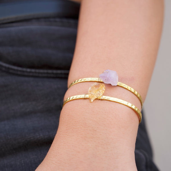 The Crystal Cuff Bracelet
