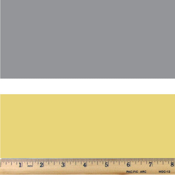 Yellow & Gray Wide Stripe Trio Cotton Fabric - RootedUSA
