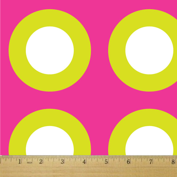 Candy Dots Bubble Gum Cotton Fabric - RootedUSA
