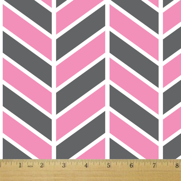 Herringbone Neapolitan Cotton Fabric - RootedUSA
