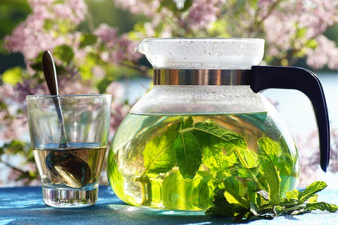 Green Tea for weight loss with Mint-Skinny Time Tea