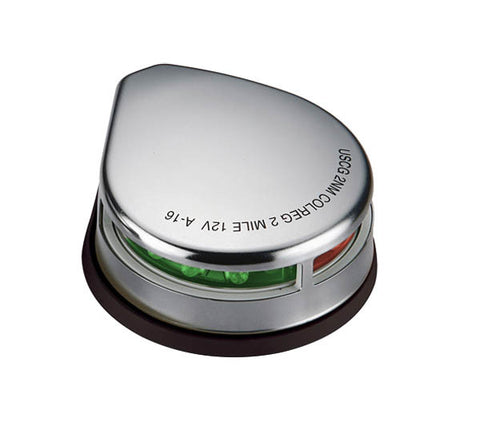 Boat Led Navigation Light Deck Mounted Stainless