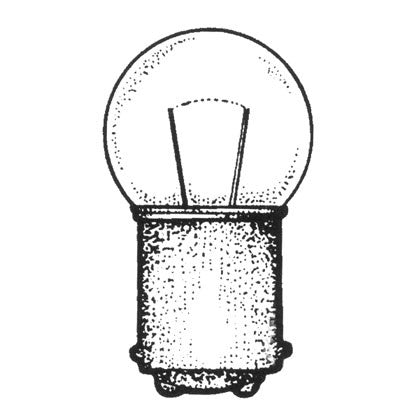 BULB, SPARE FOR AA00106  12V/6CP