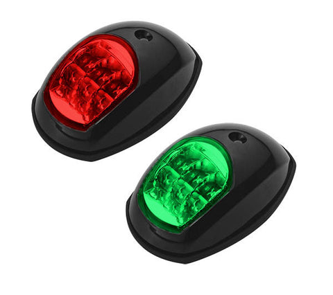 Boat Led Navigation Lights Pair Side Mounted