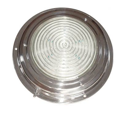 Stainless steel LED dome light  4""