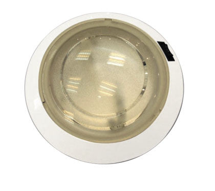DOME LIGHT,WHITE PLASTIC