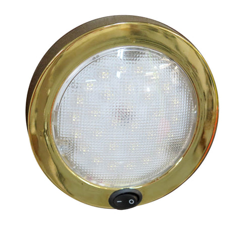 "DOME LIGHT,30 LED 5-1/2""D"