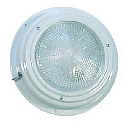 DOME LIGHT,WHITE LACQ  5""