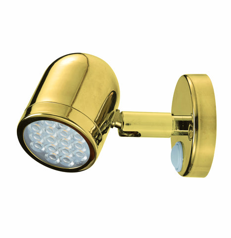 LIGHT,BULLET,BRASS LED