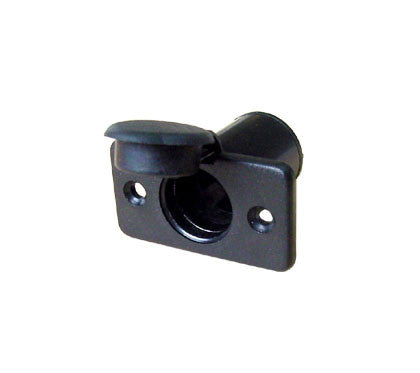SOCKET,BLCK POLYCARBONATE