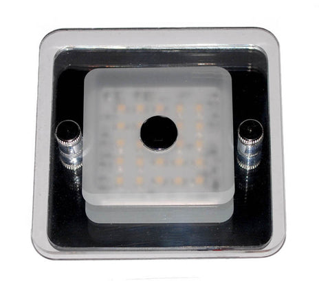 LIGHT,DOME,GLASS LENS 24 LED