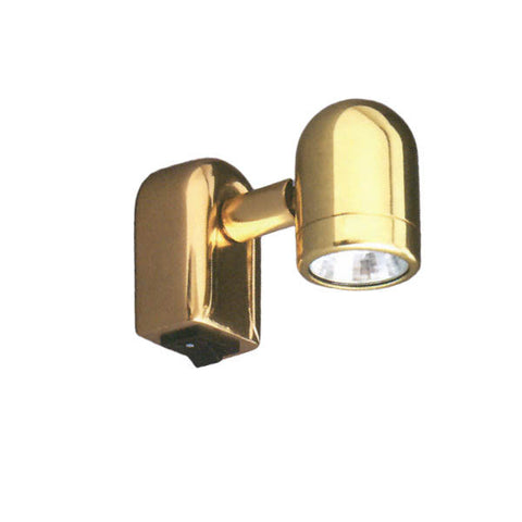 LIGHT,MINI 10W HALG BRASS