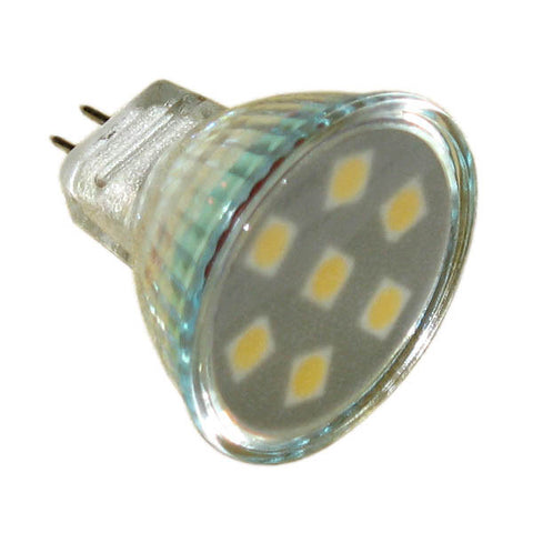 LED,MR11 W/9 SMT's WARM