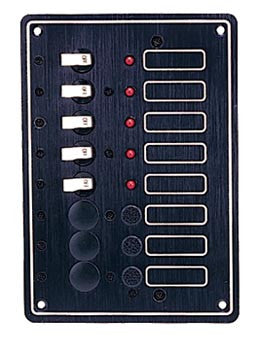 SWITCH PANEL,5 BREAKERS