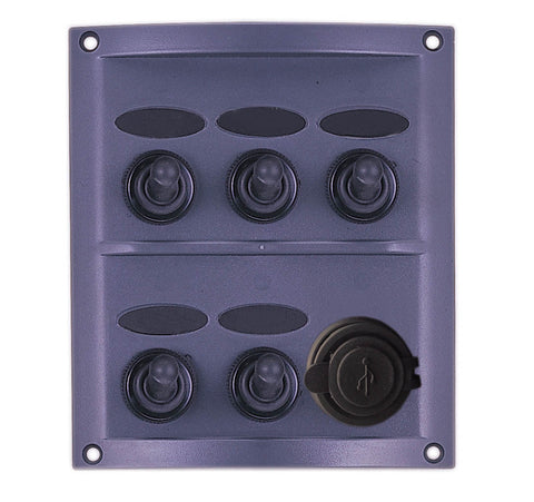 SWITCH PANEL,SPLASHPROOF