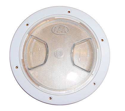 DECK PLATE,CLEAR LID  6""