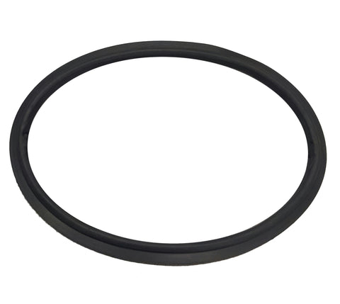 GASKET SEAL FOR PORTHOLE. BLACK RUBBER.
