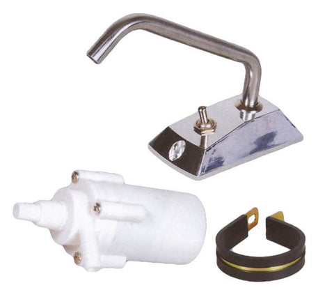 12 Volt Electric Boat Galley Pump And Faucet