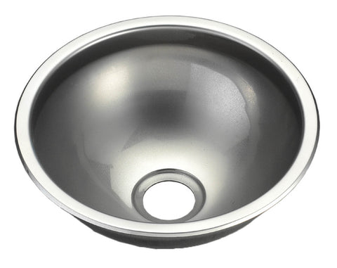 SINK,SS304 ROUND BOWL LOW