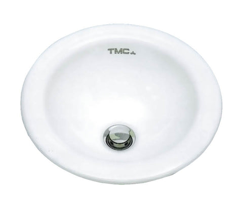 SINK,ROUND CERAMIC BOWL