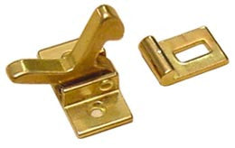 ELBOW CATCH        BRASS
