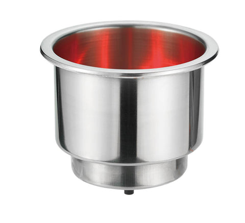 CAN HOLDER  w/RED LED