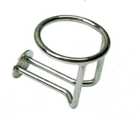 CUP HOLDER,SS    3-1/2""