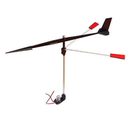WINDVANE,W/BALL BRNG+LITE
