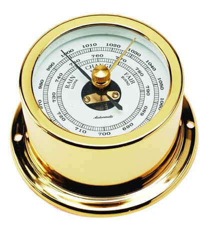 BAROMETER,GOLD PLAT 50MM