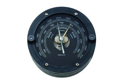 BAROMETER,BLACK    100MM