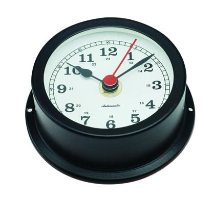 CLOCK,BLACK     70MM FACE
