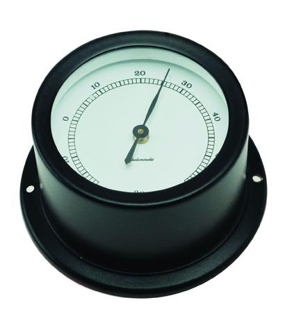 THERMOMETER,BLCK ALU 50MM