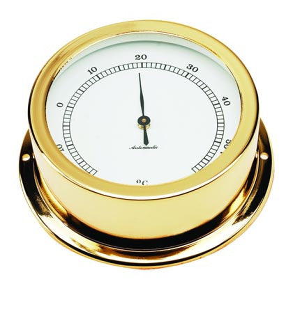 THERMOMETER,GOLD PL 50MM